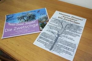 Pension Bad Windsheim, Gashof Zum goldenen Hirschen, Zimmer Zwetschge